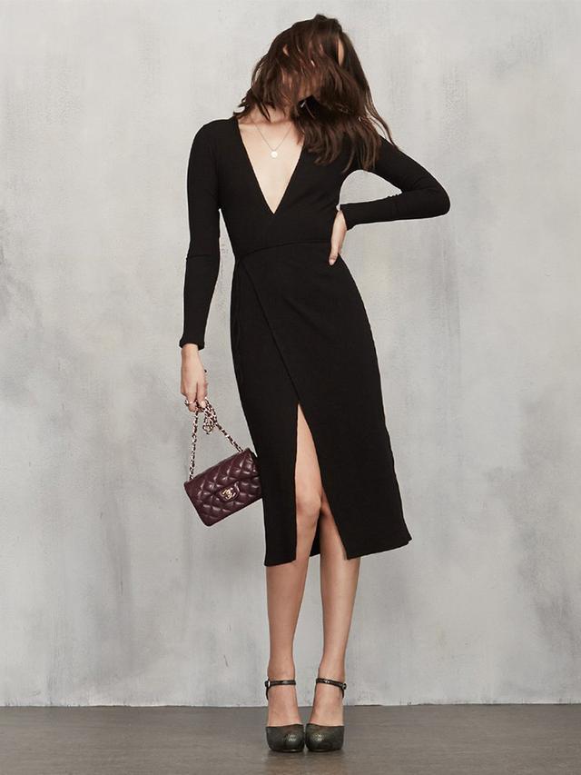 Reformation Cyan Dress