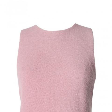 Plush Wool Asymmetrical Top