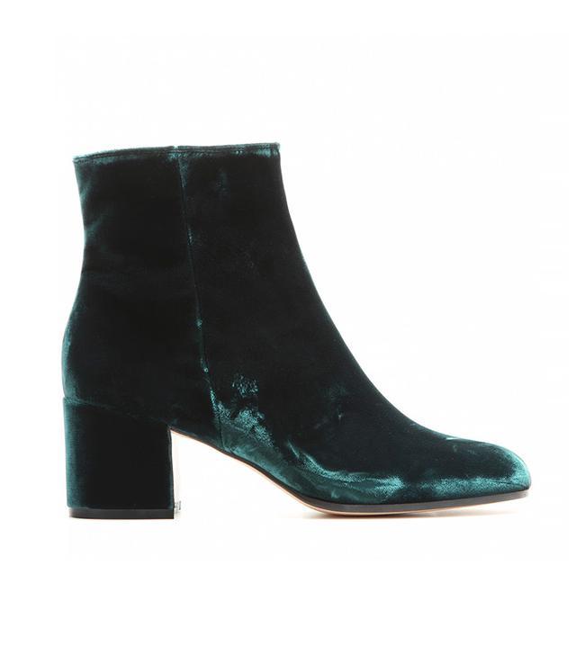 Gianvito Rossi Velvet Ankle Boots
