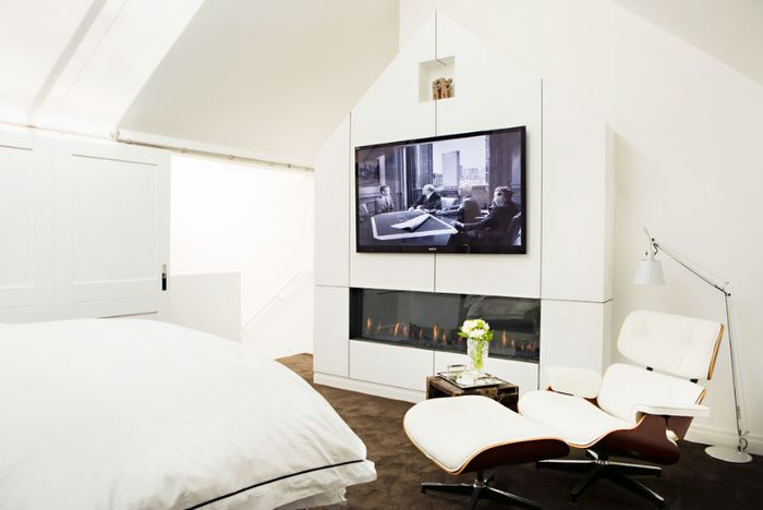 bedroom tv. Pinterest  Should Couples Have a TV in the Bedroom MyDomaine