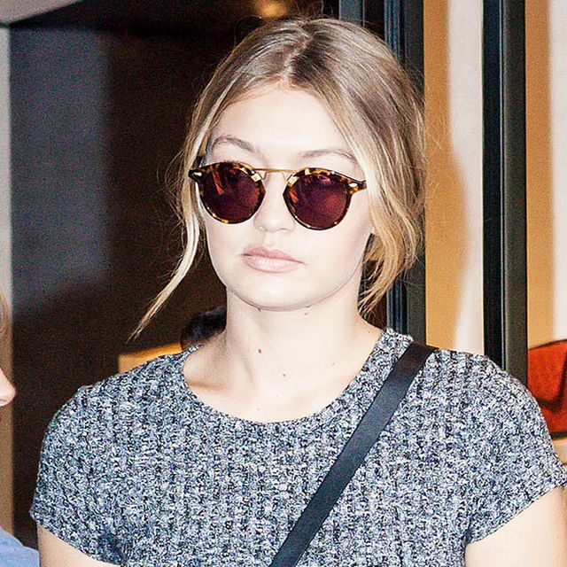 Here's the $25 Dress Gigi Hadid Wore to a Chanel Fitting