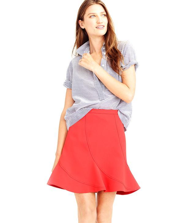 J. Crew Flutter Mini Skirt