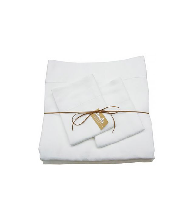 Linoto 100% Linen Queen Bed Sheet Set