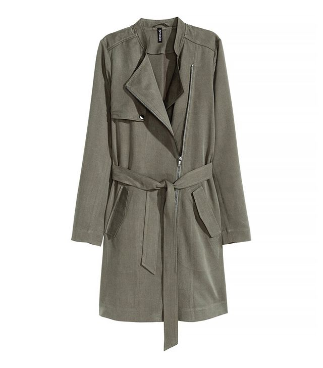 H&M Conscious Lyocell Trench Coat