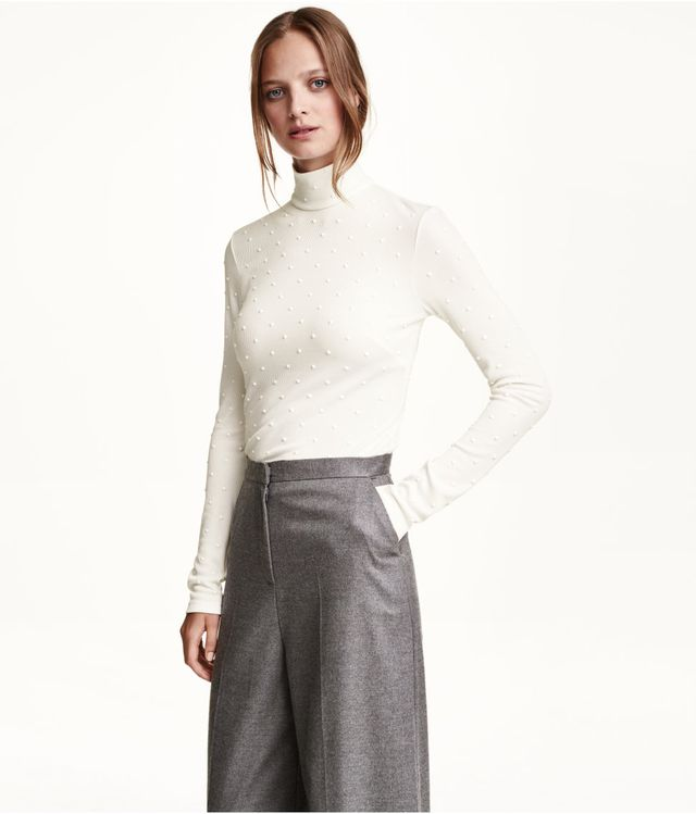 H&M Studded Turtleneck