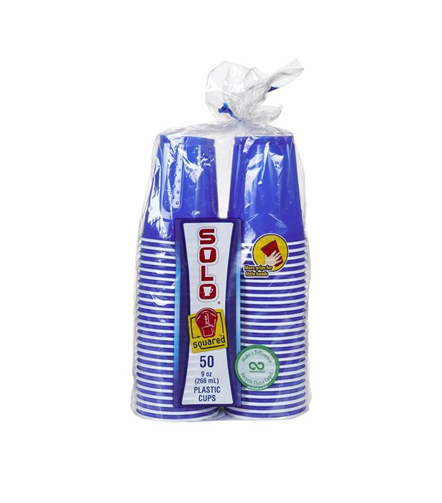 Solo Party Cups, Blue - 9 oz - 50 ct.