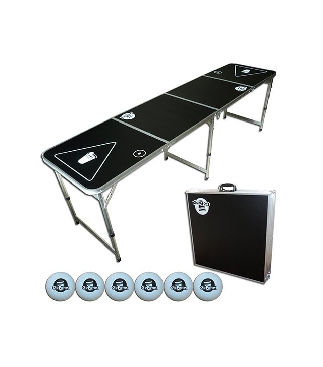 GoPong 8-Foot Portable Beer Pong / Tailgate Tables