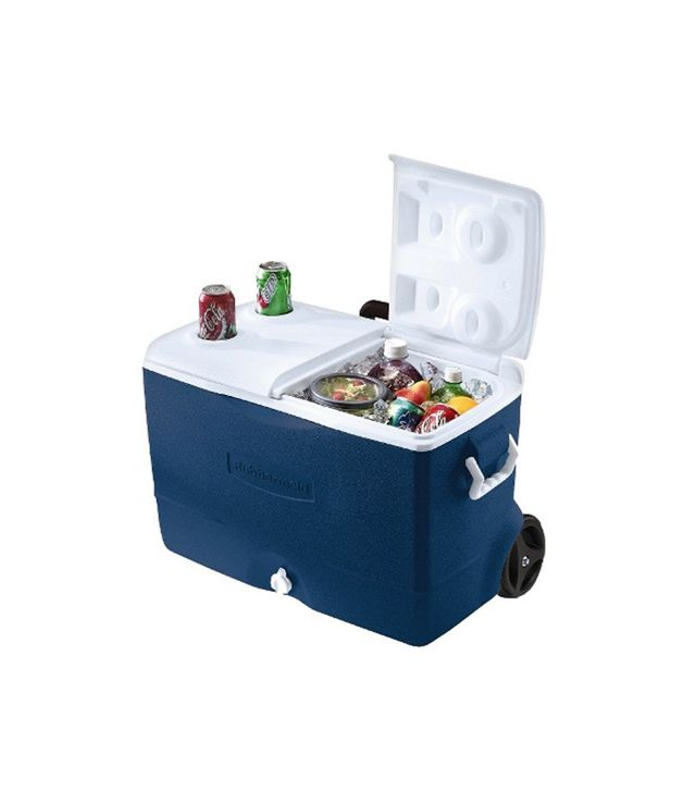 Rubbermaid 50 QT 5-Day Wheeled Cooler