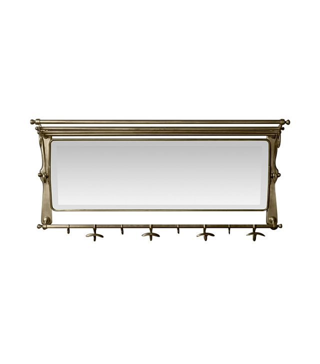 Restoration Hardware 1930s French Brasserie Coat Rack