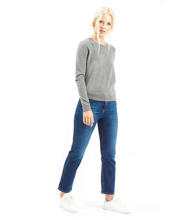 Topshop Ottoman Ribbed Detail Sweater