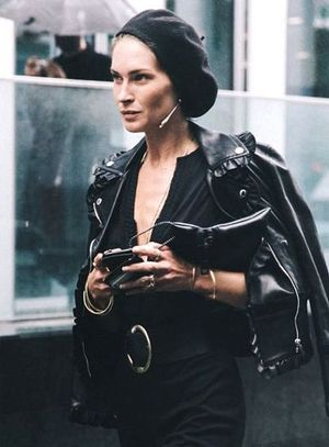 Model-Off-Duty Style: See Erin Wasson's Downtown-Cool Take on a Beret