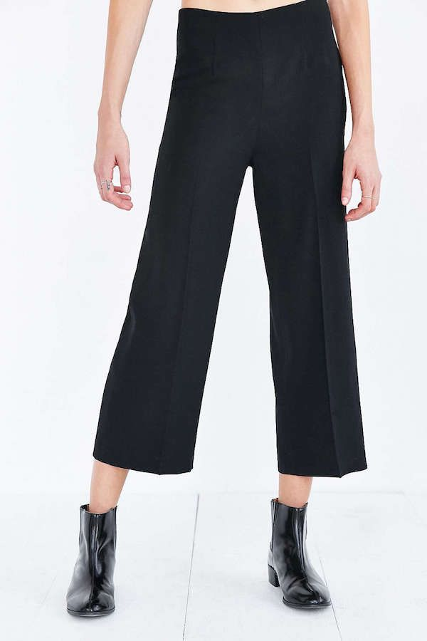 Silence + Noise Cropped Wide Leg Pant
