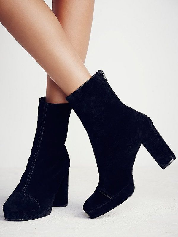 Free People Day for Night Platform Ankle Boot