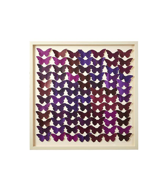 "Dawn Wolfe ""Cut Watercolor Butterfly Collage"""