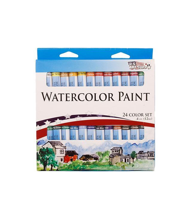 US Art Supply Watercolor Tube Artist Paint Set