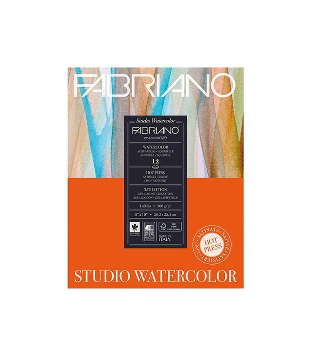 Fabriano Studio Watercolor Pad