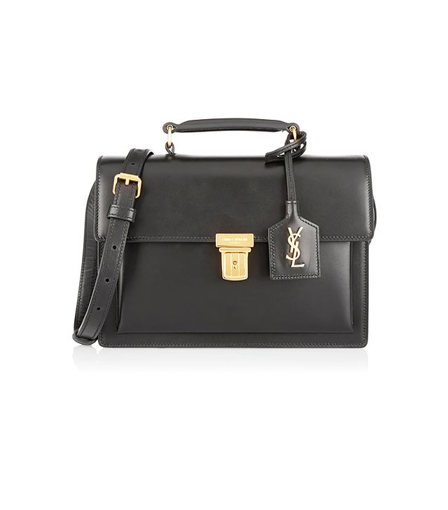Saint Laurent High School Medium Leather Shoulder Bag