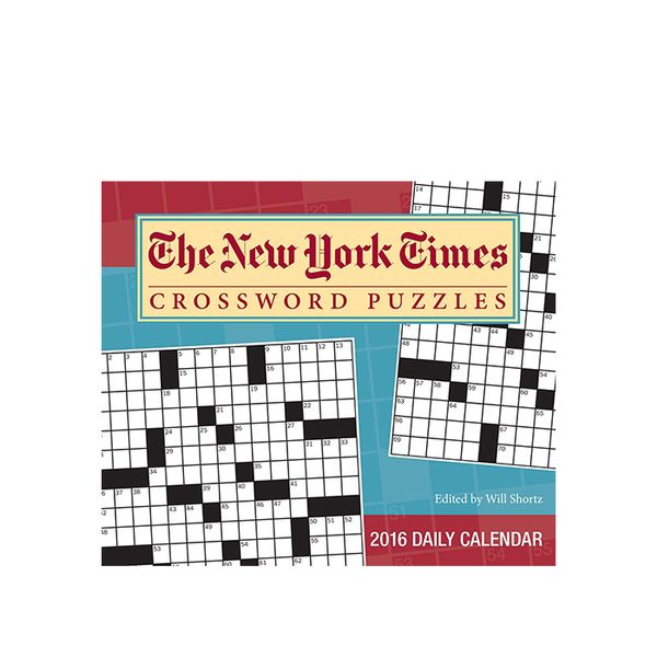 The New York Times Crossword Puzzles 2016 Day-to-Day Calendar