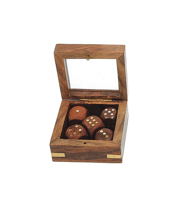 Dot & Bo Weekender Wooden Dice Set