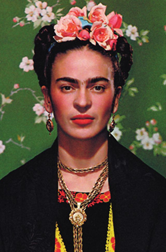 Frida Kahlo  Pulling together a costume that honors this iconic artist has never been easier. Simply grab an embroidered dress out of your closet, buy a flower crown (or make one using my...