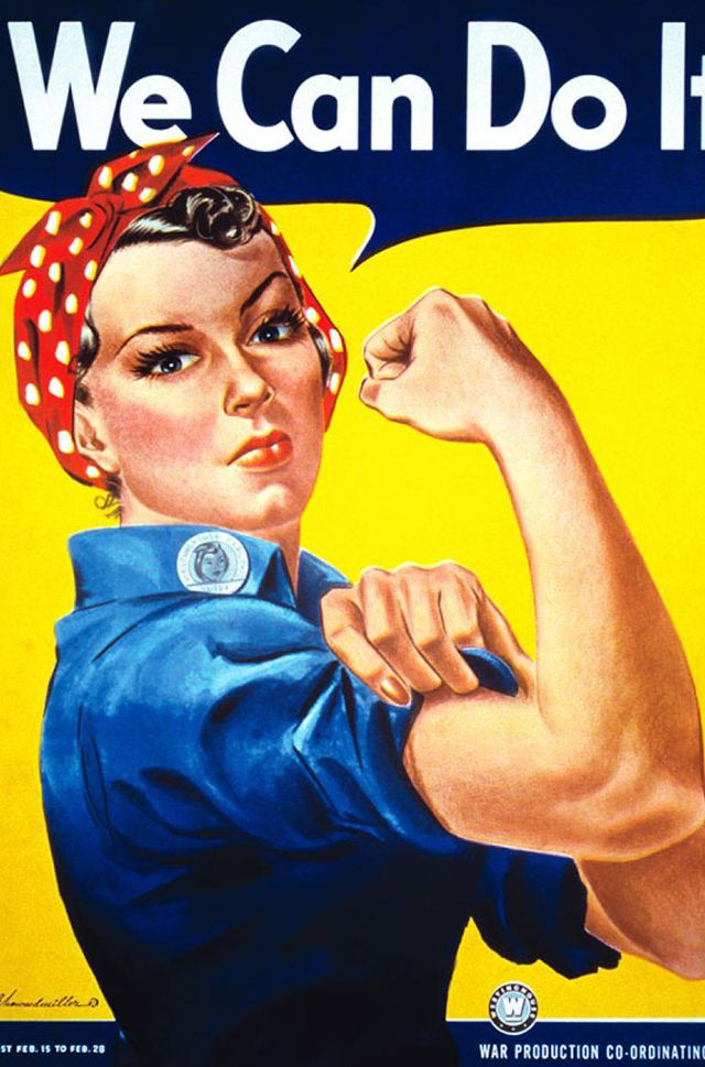 Rosie the Riveter  Why not pay homage to the original symbol of girl power this Halloween? Rosie the Riveter is a surprisingly simple costume to find in your closet. All you need is a...