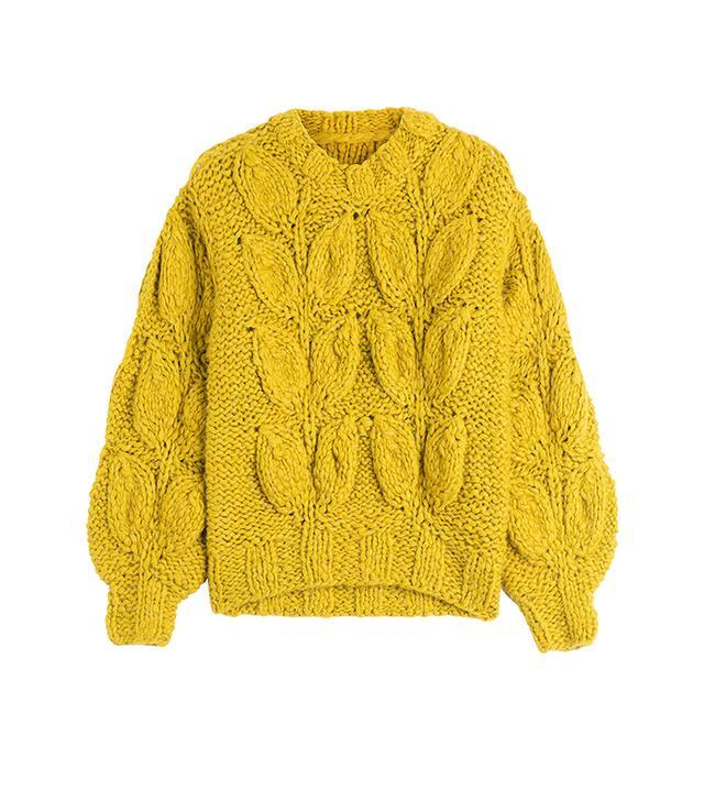 Maison Margiela Chunky Knit Alpaca Pullover