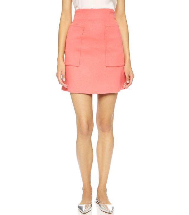 Rochas Brushed Mini-Skirt