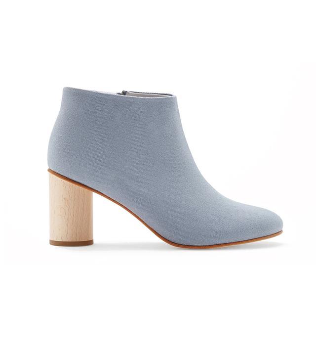 COS Round-Heel Canvas Boots