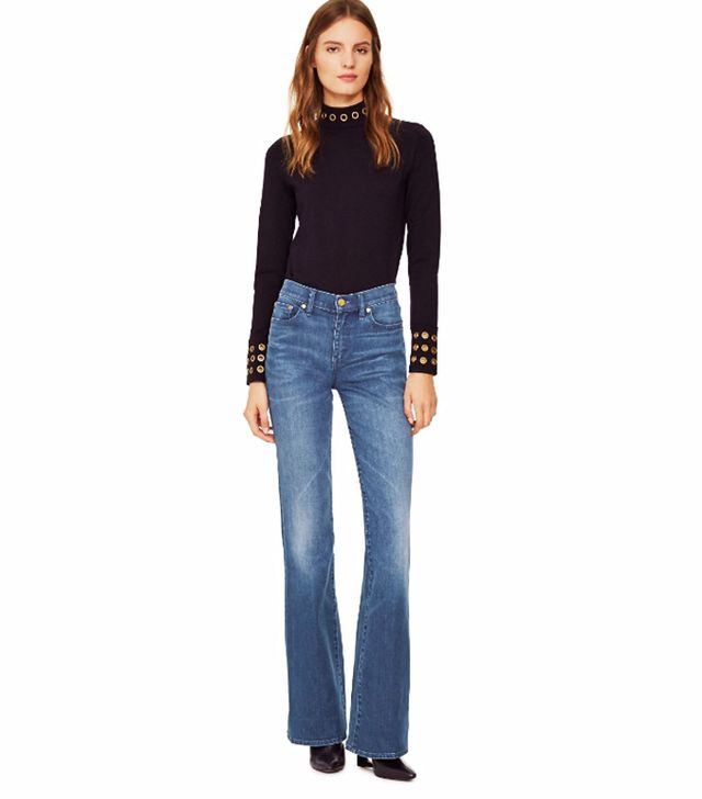 Tory Burch High-Waisted Flare Jeans