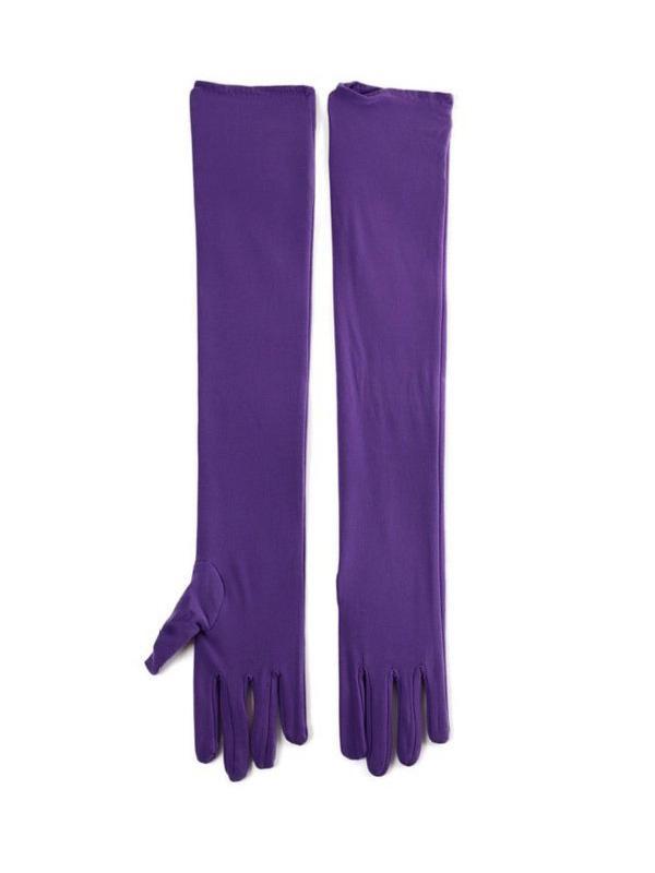 Kayso Opera Length Satin Gloves