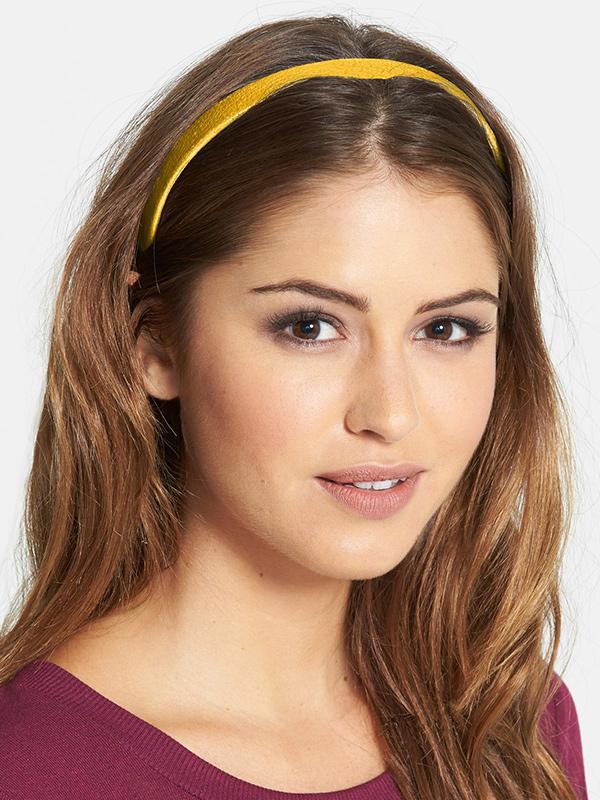 L. Erickson Skinny Leather Headband