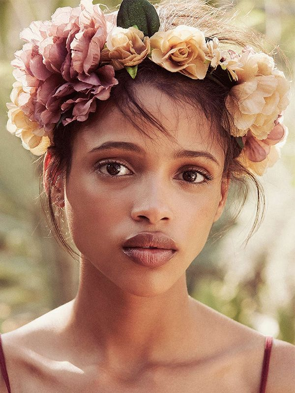 Urban Outfitters Watercolor Flower Crown
