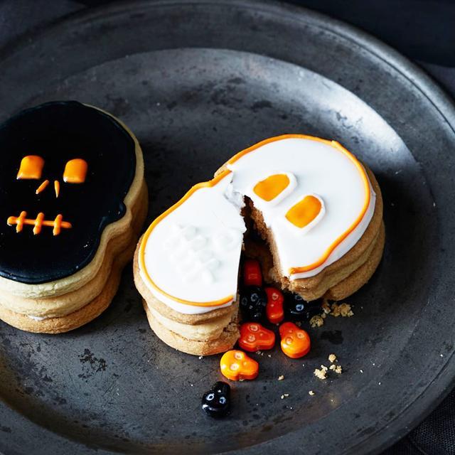 Skull Surprise Cookies