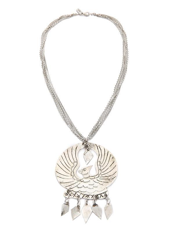 Vanessa Mooney Eagle Medallion Necklace