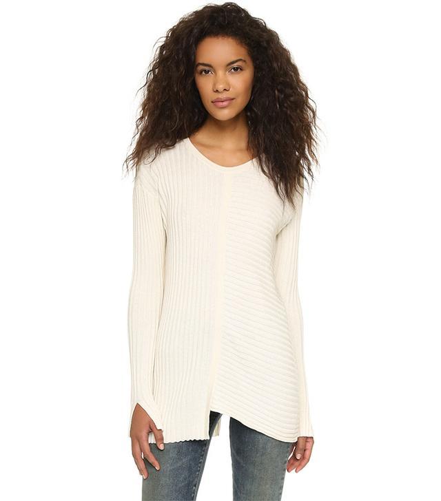 Wilt Mixed Silk Rib Sweater