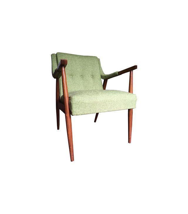 Chairish Mid-Century Danish Modern Oak Lounge Chair
