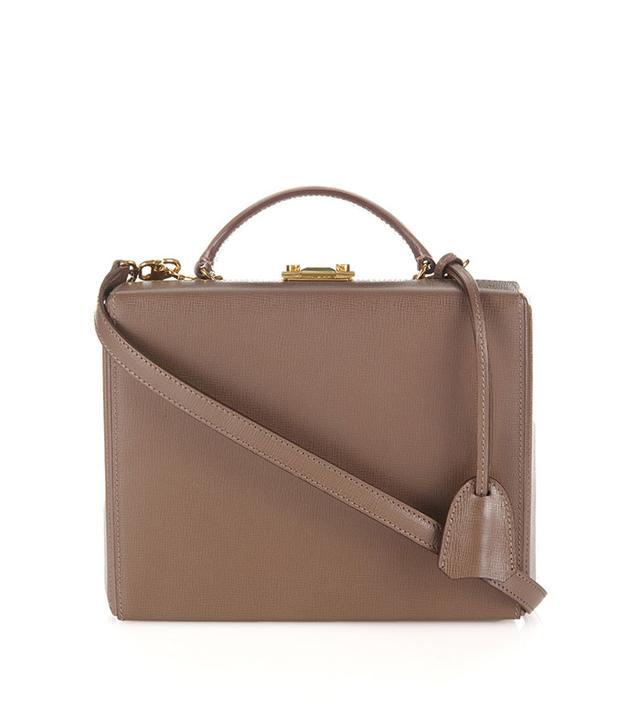 Mark Cross Grace Leather Box Bag