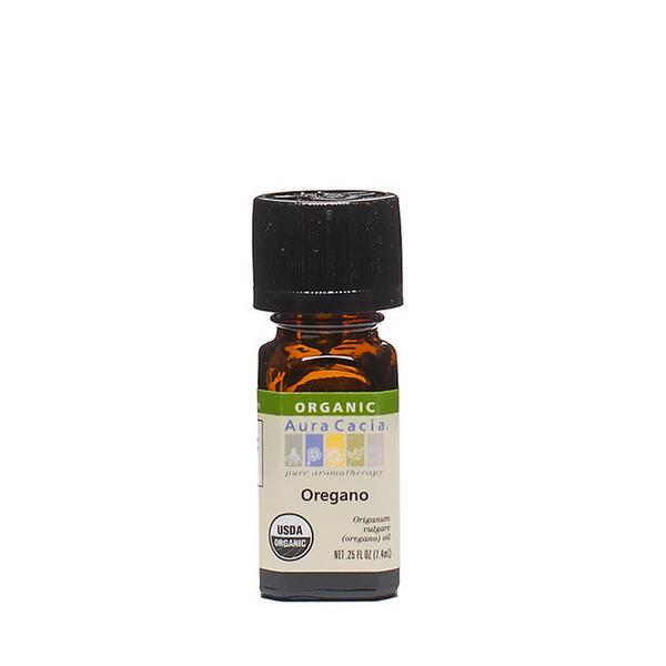 Aura Cacia Oregano Certified Organic 100% Pure Essential Oil