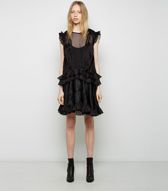 Isabel Marant Vila Pleated Organza Dress
