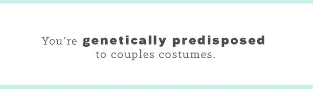 As a twin, Halloween is your personal playground. It is the one day a year you can dress alike and not feel like a creep. To date, my favorite was our Pebbles and Bamm-Bamm pairing. What's even...