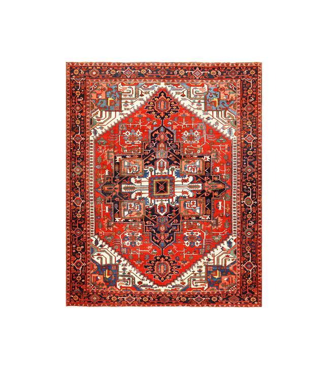1stdibs Antique Persian Heriz Rug