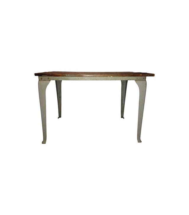 Chairish Queen Anne Metal Leg Table