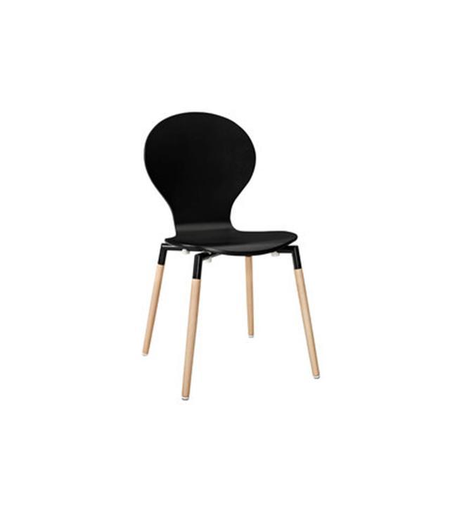 Dot & Bo Black Peg Leg Chair