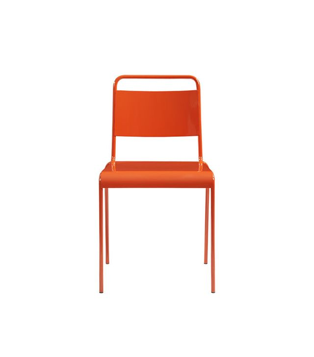 CB2 Lucinda Orange Stacking Chair