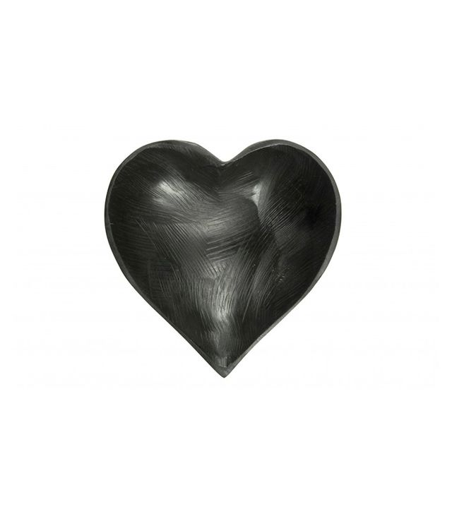 Jayson Home Black Heart Bowl