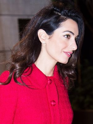 What Amal Clooney Wore on a Triple Date With Hollywood Royalty