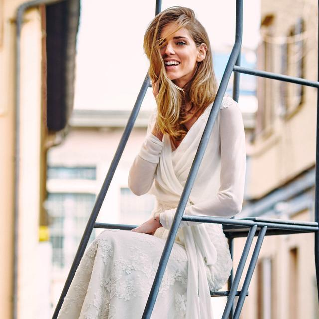 See Blogger Chiara Ferragni Model Gorgeous Wedding Gowns