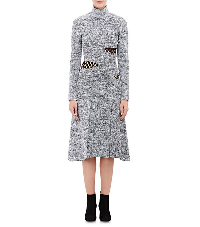 Proenza Schouler Layered Compact Knit Fit Dress