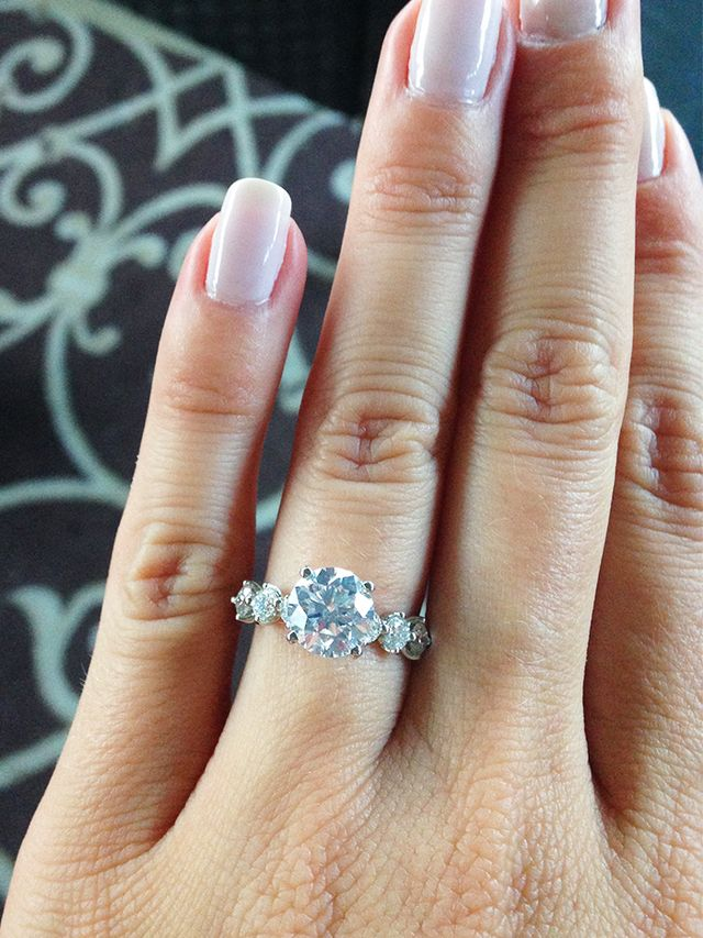 real girl engagement rings - Girl Wedding Rings