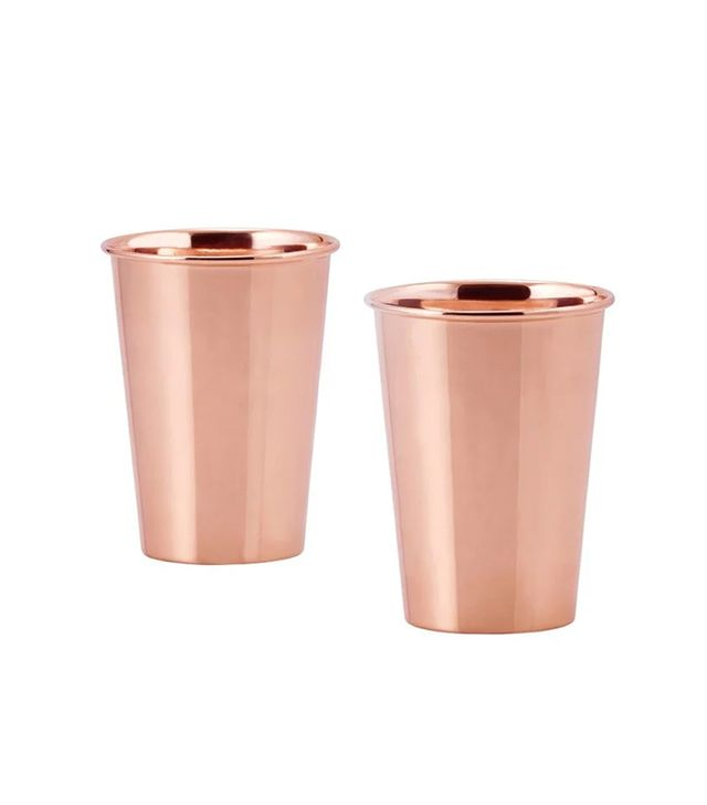 Old Dutch Solid Copper Flared Tumblers